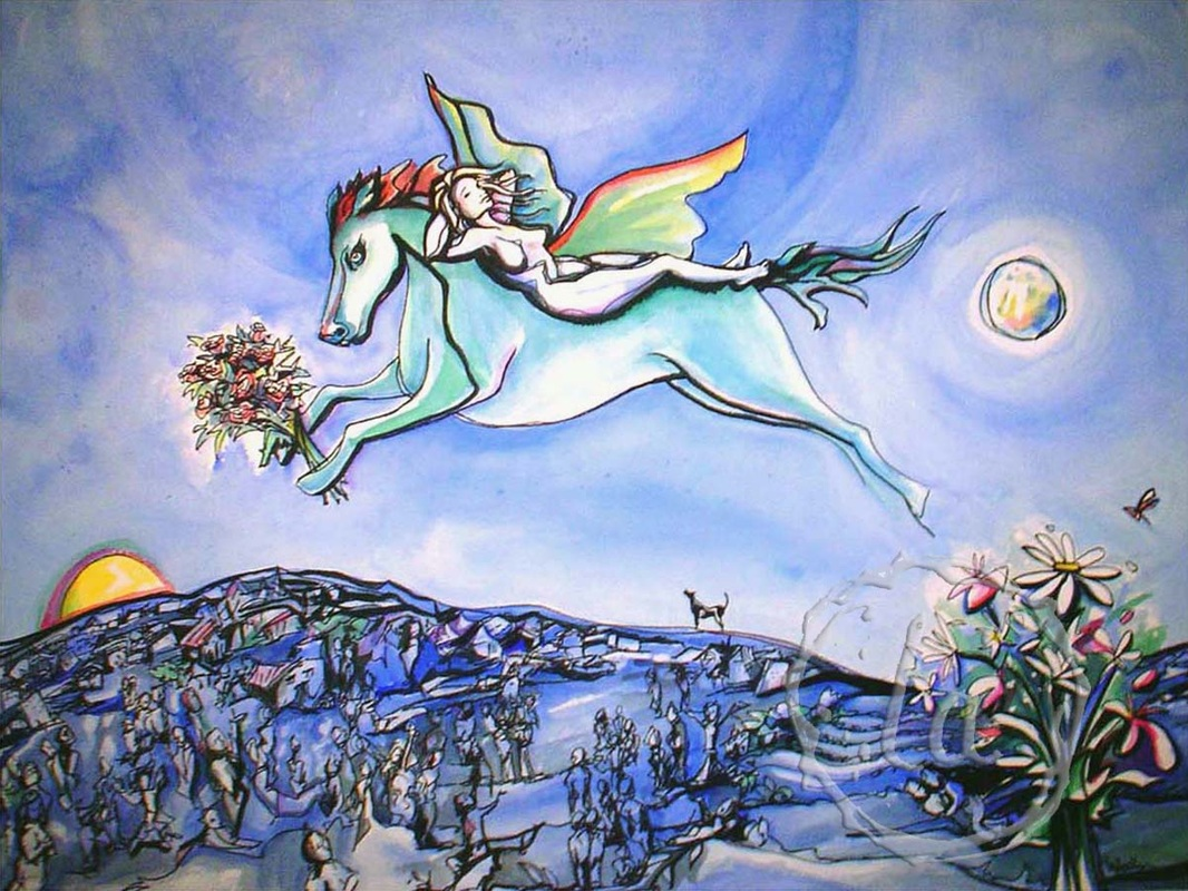 Blue Moon for Marc Chagall