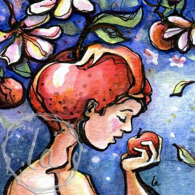 matter over mind with apples