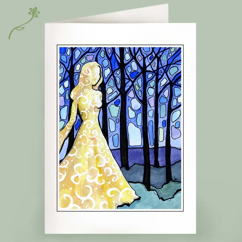 dream of the forest note cards