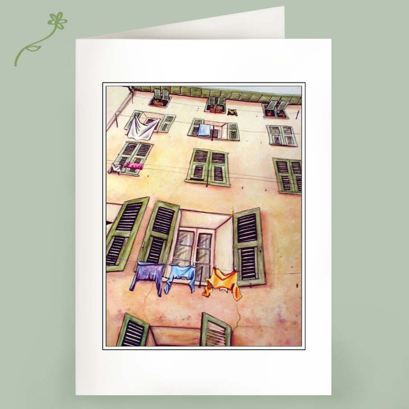 how nice france laundry note cards