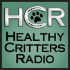 Healthy Critters Radio Logo by Leslie Allyn