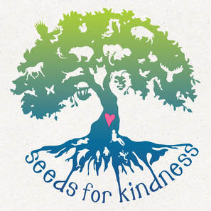 Seeds for Kindness Tree logo by Leslie Allyn